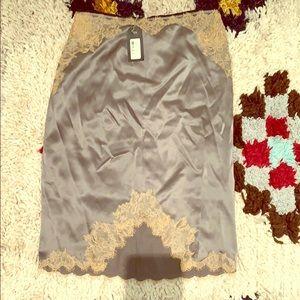 Rag and bone silk skirt